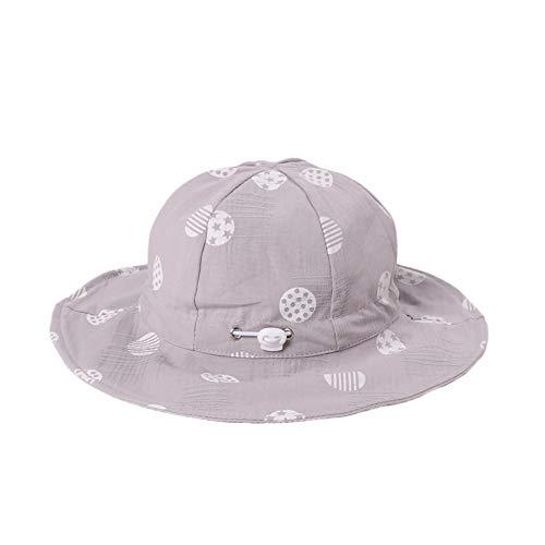 LadyGG Gorras de Visera Planas de Pescador de Verano para Niña Casquillo...