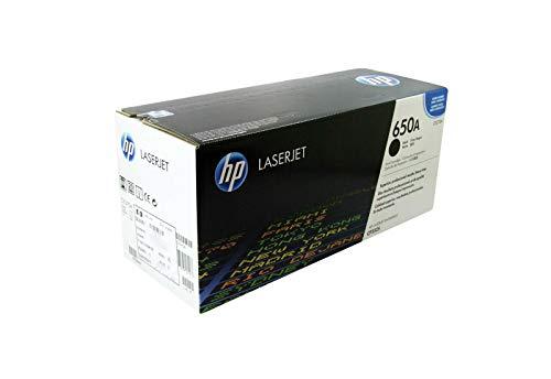 Original HP CE270A 650A Toner Black fur HP Color Laserjet Enterprise CP 5520 Series