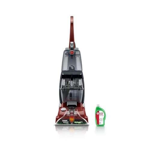 Hoover Power Scrub Deluxe Carpet Cleaner Machine, Upright Shampooer,...