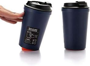 Sankirtan Coffee Tea Mug chipkoo Suction car Travel Mug Stainless Steel Flask Leakproof 350ml
