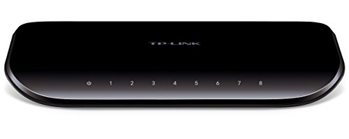 TP-Link スイッチングハブ ギガビット 8ポート 10/100/1000Mbps プラスチック筺体 3年保証 TL-SG1008D