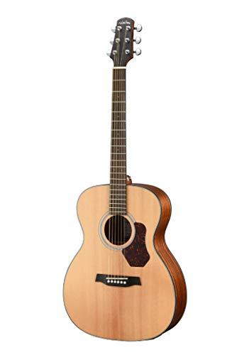 Walden O550E Natura Orchestra Akustik-E-Gitarre mit massiver Fichtendecke, offenporig, satiniert, Natur