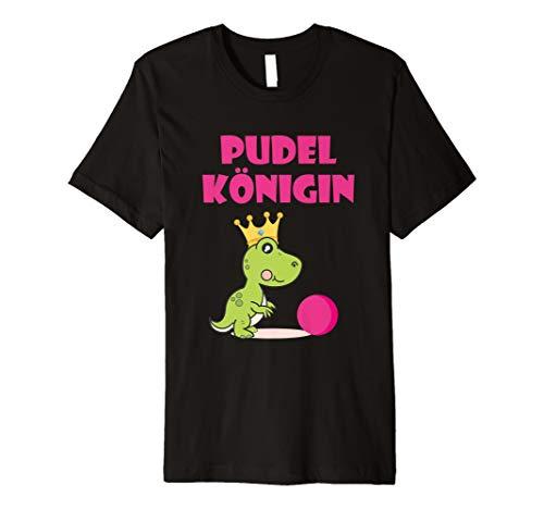 Pudelkönigin Pudelkönig Kegeln Kegel T-Shirt Geschenk Idee