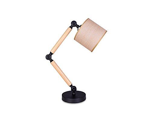 SKC Lighting-lampe de table Étude de chambre pliante en bois simple et moderne de style japonais Ceative Table Lamp
