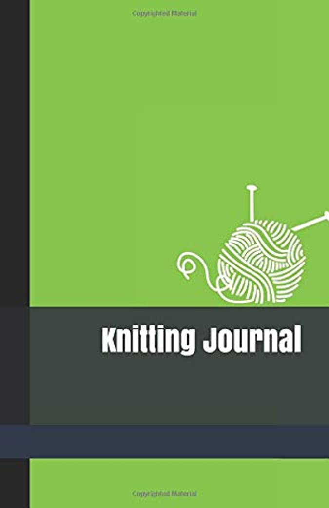 アンペア拒絶ストッキングKnitting Journal: A Knit Project Organizer and Chart Keeper to Write In with Lime Green Cover for Men and Women