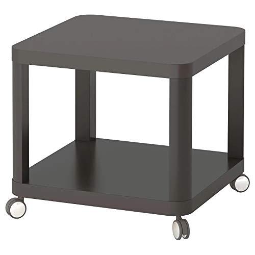 My- Stylo Collection - Tavolino con rotelle, colore: Grigio, Dimensioni prodotto: Lunghezza: 50 cm Larghezza: 50 cm Altezza: 45 cm