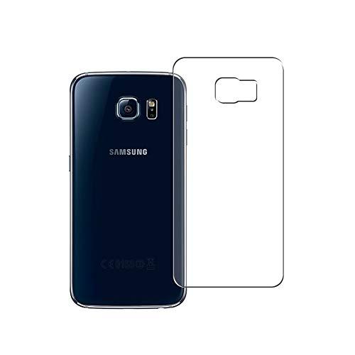 Vaxson 2 Unidades Protector de pantalla Posterior, compatible con Samsung Galaxy S6 SC-05G / G9200 G920 G9208 G9209 [No Vidrio Templado] TPU Película Protectora Espalda Skin Cover
