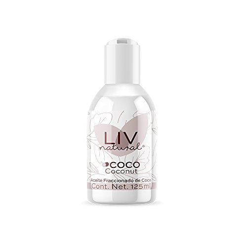 Aceite Fraccionado de Coco LIV natural® Frasco de 125 ml