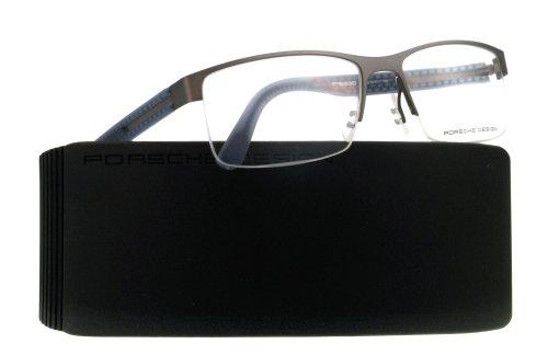 Porsche Designs Eyeglasses P8230 D Sand, Blue Demo 55 17 135