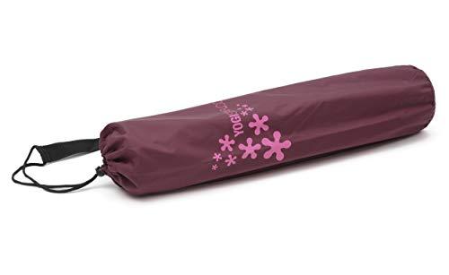 Yogistar 107790 - Borsa Basic Porta Tappetino per Yoga, Colore: Bordeaux