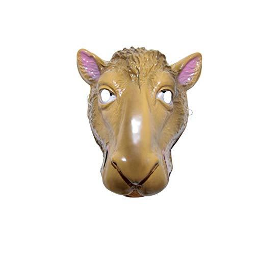 PTIT CLOWN Schutzmaske für Kinder – Kamel