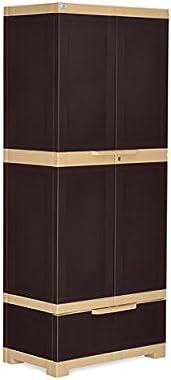 Nilkamal Freedom FMDR1B Plastic Cabinet with 1 Drawer Brown
