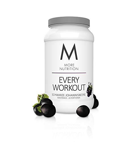 MORE NUTRITION Every Workout (1 x 700 g Pulver) - Fitness Booster mit Creatin für mehr Power und Pump beim Krafttraining (Schwarze Johannisbeere)