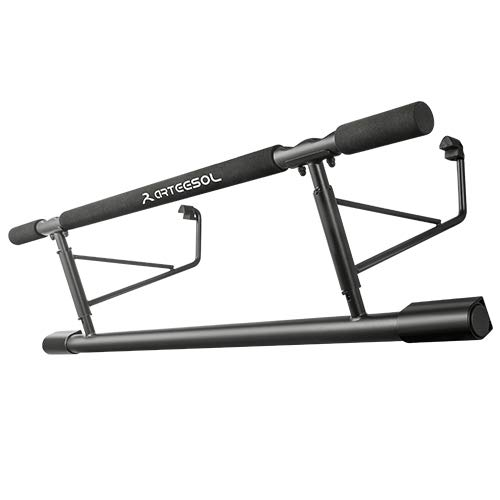 arteesol Fitness Doorway Pull Up Bar/Chin Up Bar, Station Home Gym, No Screws, No Drilling, with Non-Slip Handles