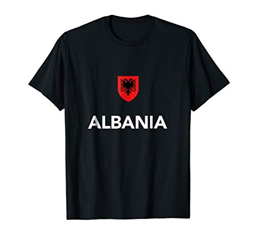 Albania Soccer T-Shirt Albanian Tee Shirt