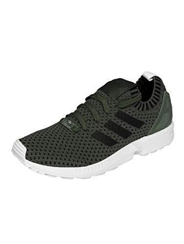 adidas Herren ZX Flux Primeknit Sneaker Grau, 40