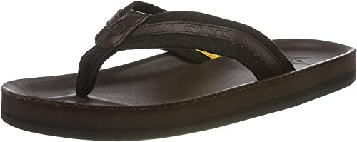 GANT Footwear Herren Breeze Zehentrenner, Braun (Espresso G464), 44 EU