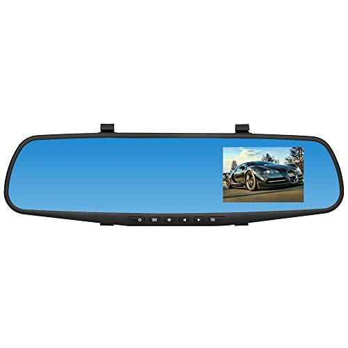 Auto-DVR Rückkamera DVR Objektiv Videorekorder, Mamum 1080P HD Auto Armaturenbrett Kamera Dual Cam Fahrzeug Frontkamera DVR Objektiv Video Recorder