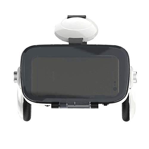 JYMYGS VR Brille, HD 3D Virtual Reality Brille, für 3D Film und Spiele, Geeignet 4,0-6,0 Zoll Smartphone Handy für iPhone SE 6/6s/7/8/X/XS, Samsung Galaxy S6/S7/S8/S9, Huawei p10/p20. N055JL