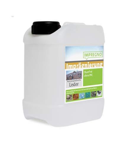 IMPREGNO Imprägnierung Leder 2,5 Liter Imprägniermittel Pflege Schutz fluorfrei