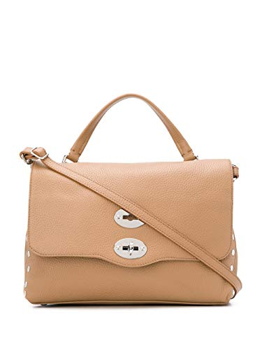Zanellato Luxury Fashion Damen 612018V4 Beige Leder Handtaschen | Herbst Winter 20