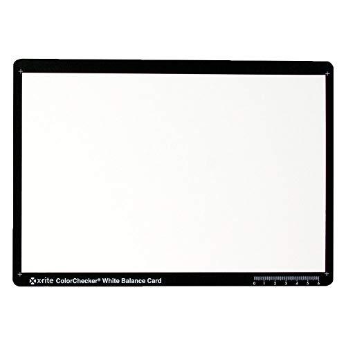X-Rite M50101 ColorChecker White Balance Card [Bianca]