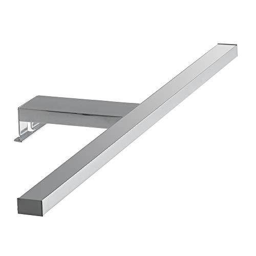 FAN EUROPE–Spot-b-Riva–Applique Minimal Oben Spiegel Aluminium Chrom LED 8Watt Licht Natur