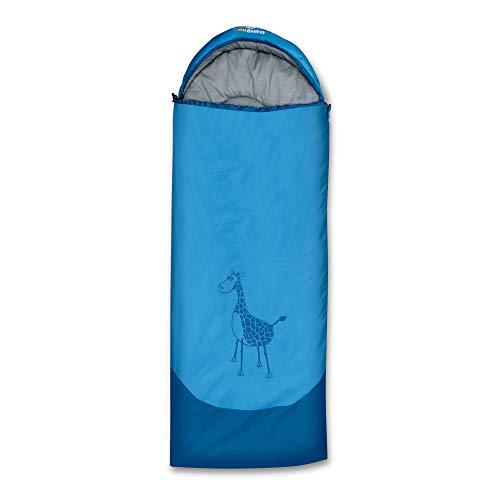 outdoorer Dream Express blau - Schlafsack für Kinder, Kinder-Schlafsack auch als Deckenschlafsack verwendbar