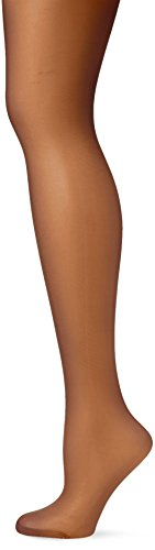 Pretty Polly Damen 15d Soft Shine Stockings Strumpfhose, 15 DEN, Schwarz (Blk Barely Black), One Size (Herstellergröße: OS) (3er Pack)
