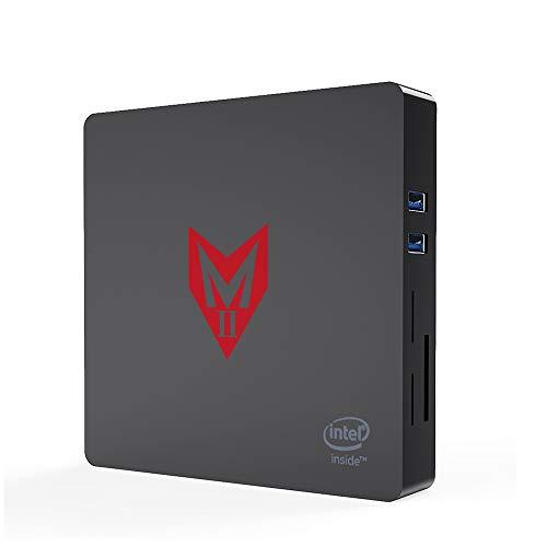 Mini Pc, Windows 10 Intel Apollo Lake J4205 Procesador Mini Computadora 8GB DDR4 / 128GB SSD, Intel HD Graphics 505,4K HD, 2.4 / 5G WiFi, 1000M LAN, Salida HDMI/VGA
