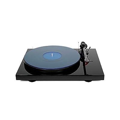 Acrylic Turntable Mat - BlueLit - LP Slipmat