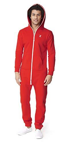 OnePiece Damen Jumpsuit Unisex Original 2.0, Rot (Red) - 8