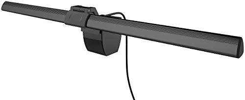 General Office Monitorlampe: XL-USB-LED-Leuchte für PC-Monitor, 3 Lichtfarben, dimmbar, 4 W, 40 cm (Bildschirmlampe)