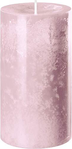 safe candle® TREND vela auto-extinguible, 4 piezas, hechos en Alemania (130x70mm, Rosa...