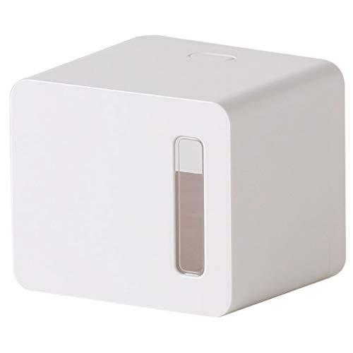 CXJJ Folding Tuchspender Papiertuch-Halter Durchschlag Freie Wand befestigte Rolle Tissue Box Papierhandtuchhalter for Küche Badezimmer Toilette von privatem und gewerblichem Weiß