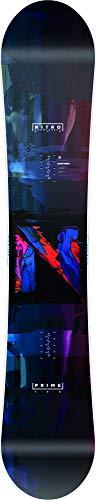Nitro Snowboards Herren Prime Overlay'20 BRD All Mountain Beginner günstig Snowboard, mehrfarbig, 158 cm