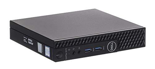 Dell Optiplex 3070 MFF Mini-PC Intel Core i7 256GB SSD Festplatte 16GB Speicher Windows 10 Pro inkl. W-LAN Business Desktop Computer Mini PC (Generalüberholt)