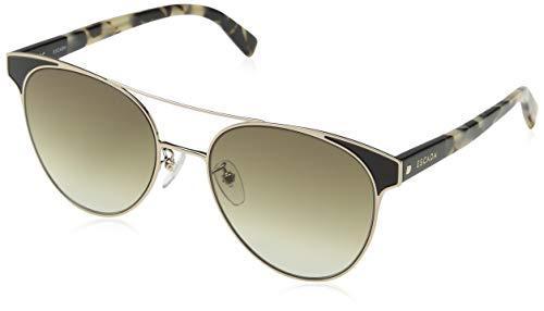 Escada SES938-08M6 Gafas, dorado - negro, 55/19/140 para Mujer
