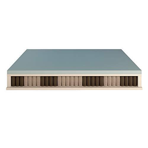 Baldiflex Matratze 800Sprungfedern, CUS. Seifenschale Silver Safe, 165x 190cm, Memory, 5cm