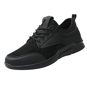 ZODOF Zapatillas Calzado Deportivo Hombres Casual Cómodo Respirable Zapatos de Mesa Atlético Zapatillas Deportivas Running Sneakers Zapatillas Trekking