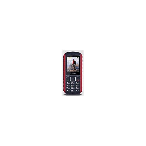 Beafon AL550_EU001BR Mobiltelefon (Dual SIM, TFT Farbdisplay, VGA Kamera, Bluetooth, IP67 (Staubdicht & Wasserdicht, 4,6 cm (1,8 Zoll schwarz/rot