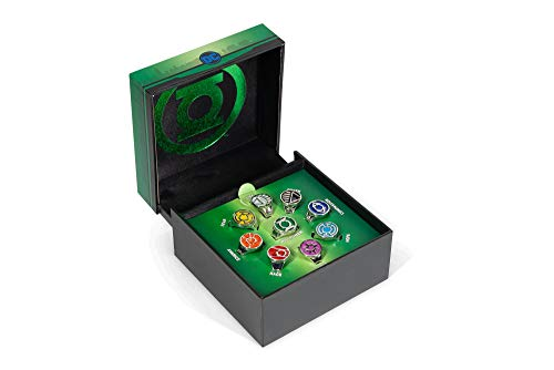 dc comics Green Lantern Power Rings Emotional Spectrum Power Rings | 9 Ring Set