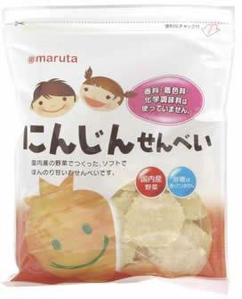 太田油脂 MS 砂糖不使用 にんじんせんべい 30g ×6セット