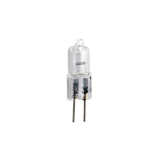 Bulk Hardware BH00587 10 W 12 V GU4 Mini Dichroitische Halogenlampe Doppelpackung (Packung à 5), Weiß, 5 Stück