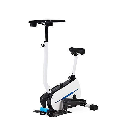 Ruhige, glatte und umweltfreundliche elliptische Maschine Cross Trainer Trainer, Trainingsschritt Machine stufenlose Widerstandsanpassung elliptischer Trainer + Tablet-Halter WXCise Machine Bike Train