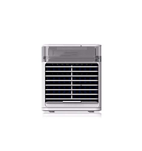 HSTD Enfriador De Aire, Mini Enfriador De Aire En Aerosol, Ventilador De Esterilización UVC Doméstico, Ventilador De Aire Acondicionado De Refrigeración Multifunción, 3 Configuraciones De Velocidad