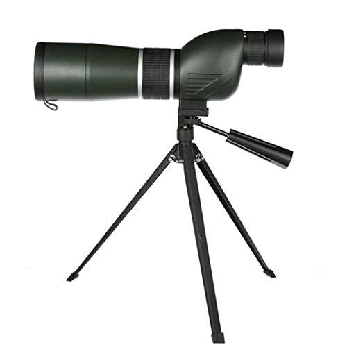 Telescopio Creative Light 15-45x60 Alcance telescópico ángulo Recto con trípode, Espejo de ángulo de 45 Grados para...