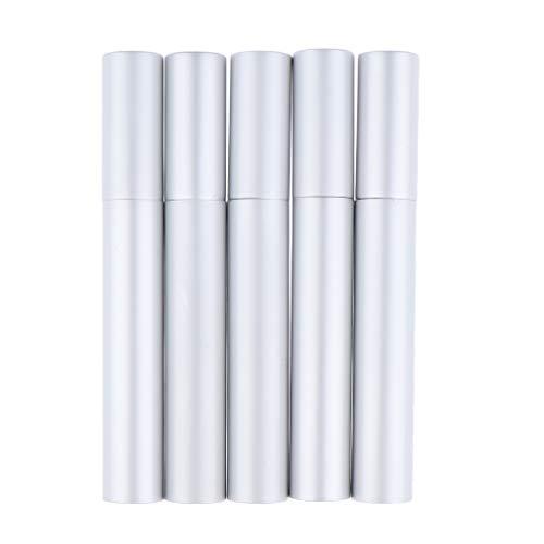 B Blesiya 5 PCS Flacon Mascara Vide Plastique Bouteille de Croissance de Cils Tube Eyeliner Liquide DIY Flacons De Maquillage Flacon Avec Brosse