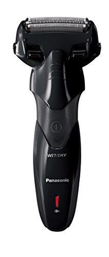 Panasonic ES-SL33-K503 - Afeitadora eléctrica para hombre, Wet&Dry, recargable, 3 hojas de acero inoxidable, 13.000 oscilaciones, 100% lavable, negro