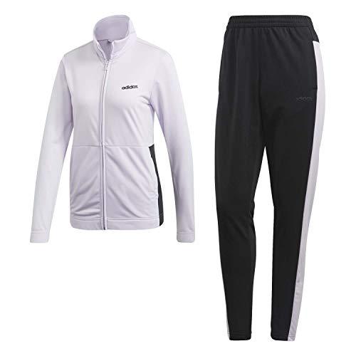 adidas Damen Tracksuit WTS Plain Tric, purple tint/black, L/S, FM6844